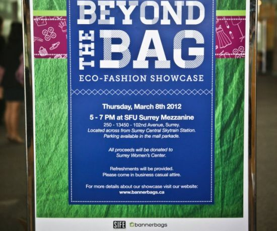 Beyond The Bag Eco Fashion Show To Flaunt Recycled Banner