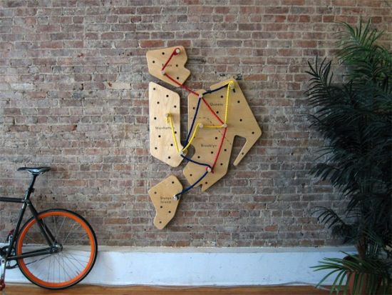 Commute Wooden Interactive Artwork Helps Users Redesign Their Subway