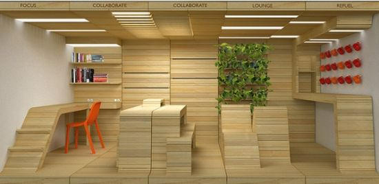eco office furniture. eco office furniture popup utilizes recycled shipping pallets to achieve mobility dynamism friend
