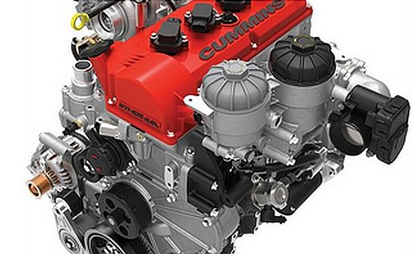 Cummins  E85-fueled engine