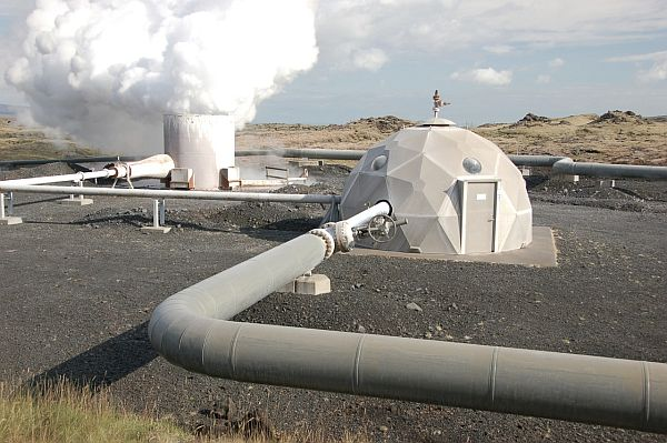 geothermal energy.
