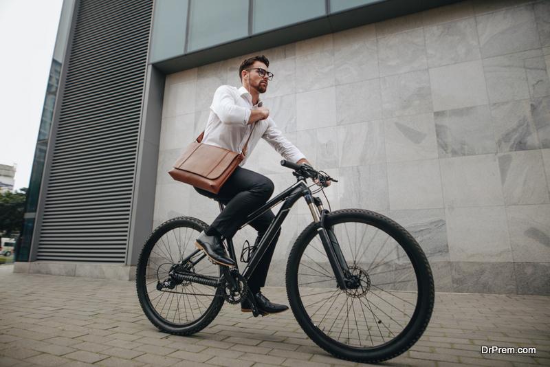 be eco friendly use bike