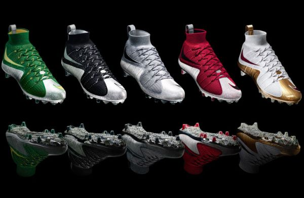 Nike unveils first football cleat 2