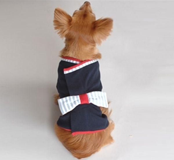 Organic cotton dog kimono