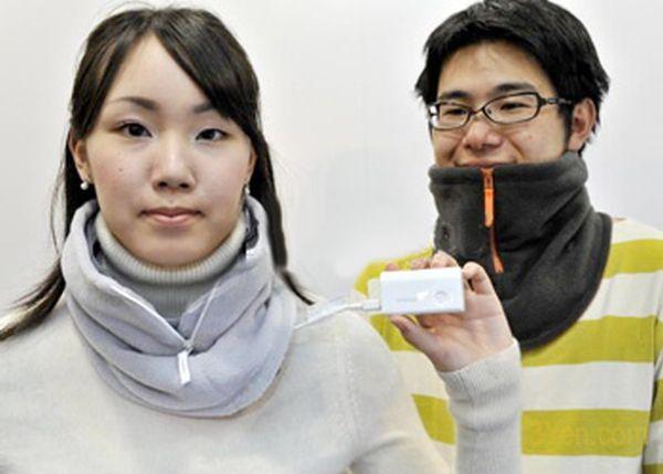Solar Neck Warmer