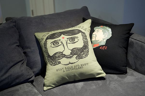DIY pillows from old T- shirts