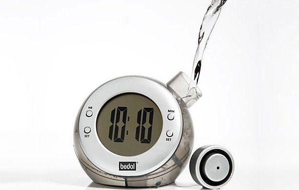 Water powered water clock 2