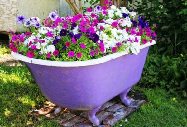 Old Tub Planter