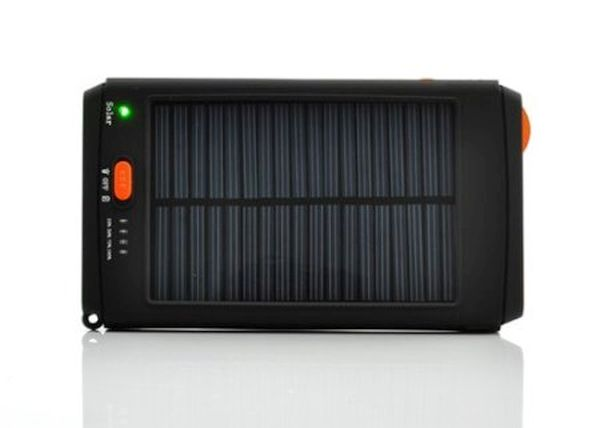 High capacity solar charger battery
