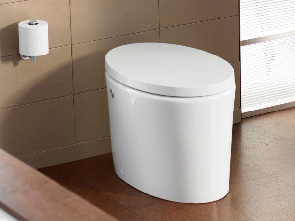 Tank less toilet
