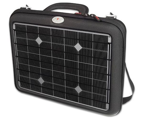 Voltaic generator solar laptop charger