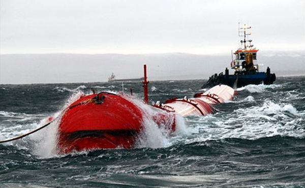 wave power plant- Pelamis