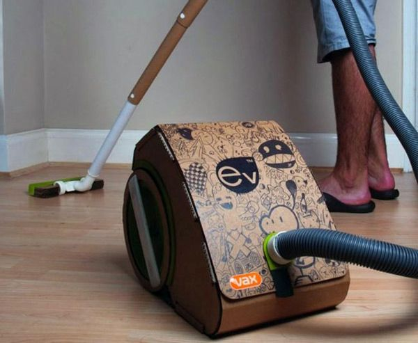 Green Vacuum Cleaner