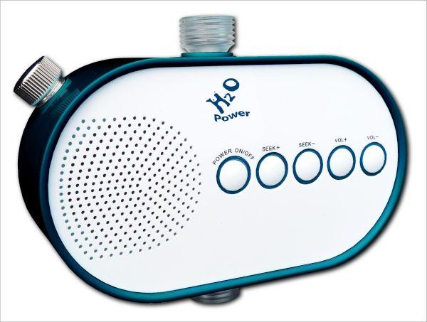 H2O Powered Shower Radio