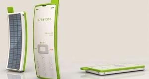Solar Powered Sticker Phone