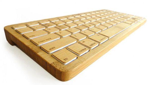 Bamboo key pad