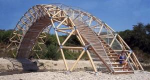 Cardboard bridge