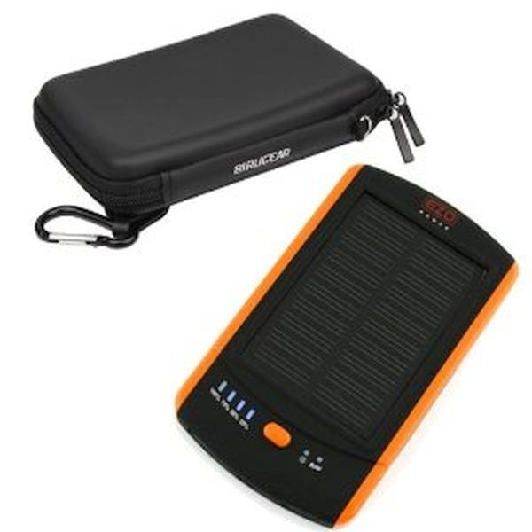 Eva solar powered GPS