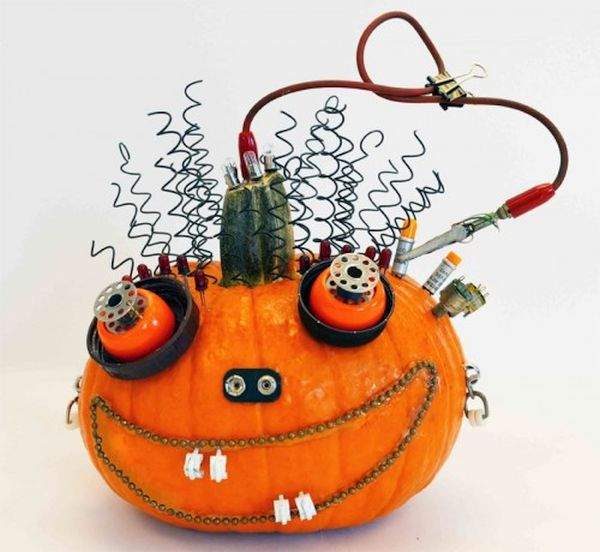 Hardware Halloween Pumpkin