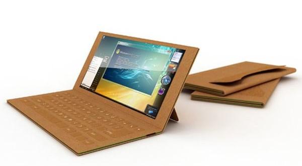 Recyclable cardboard laptop