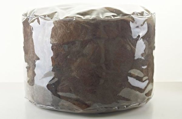 Eco-friendly hair poufs