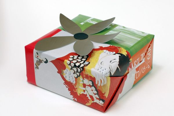 Magazine Pages Gift Wrap