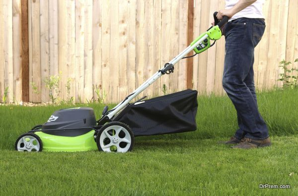 non-polluting lawn mowers