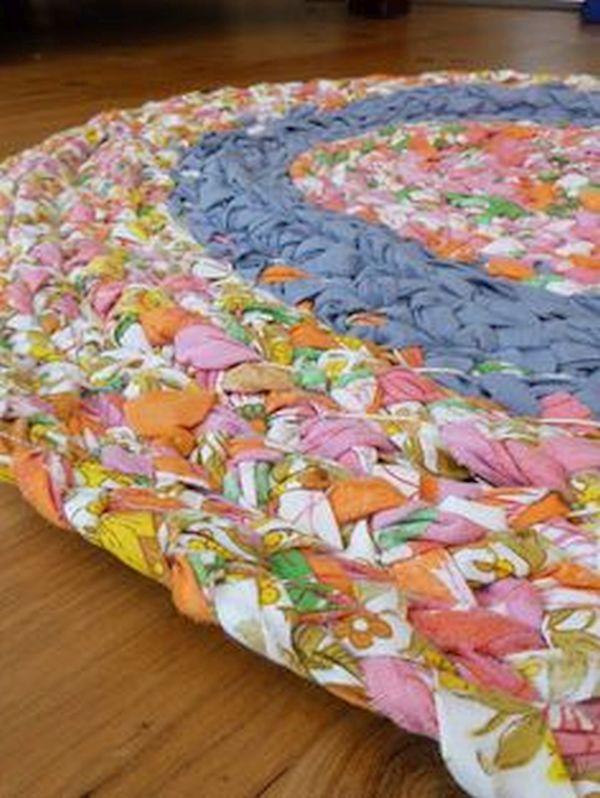 old bedsheets  rugs