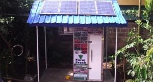 Solar powered refrigerators