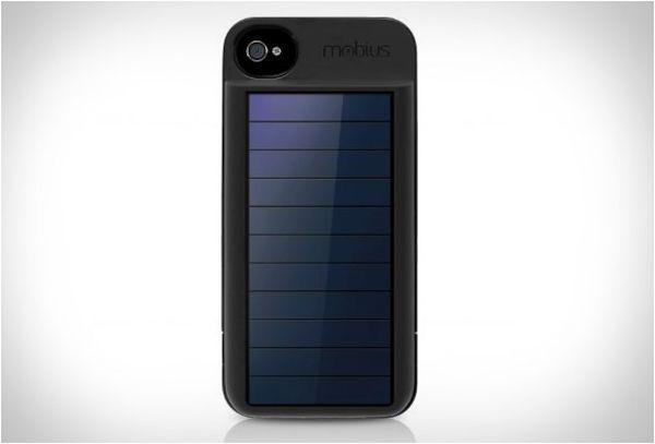 solar powered iPhone