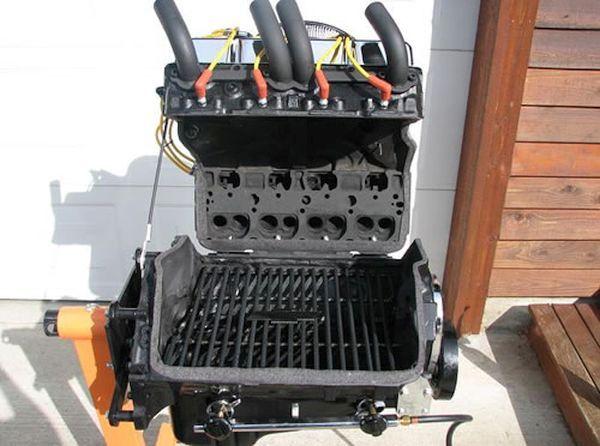 Chevy V8 Grill