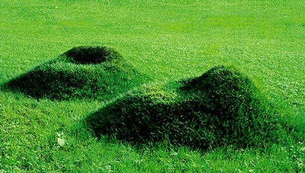 Grass furniture for your garden