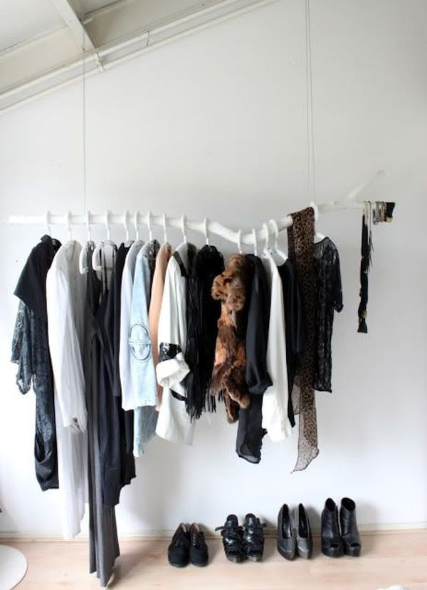 Branch Closet Hanger for Saving Space