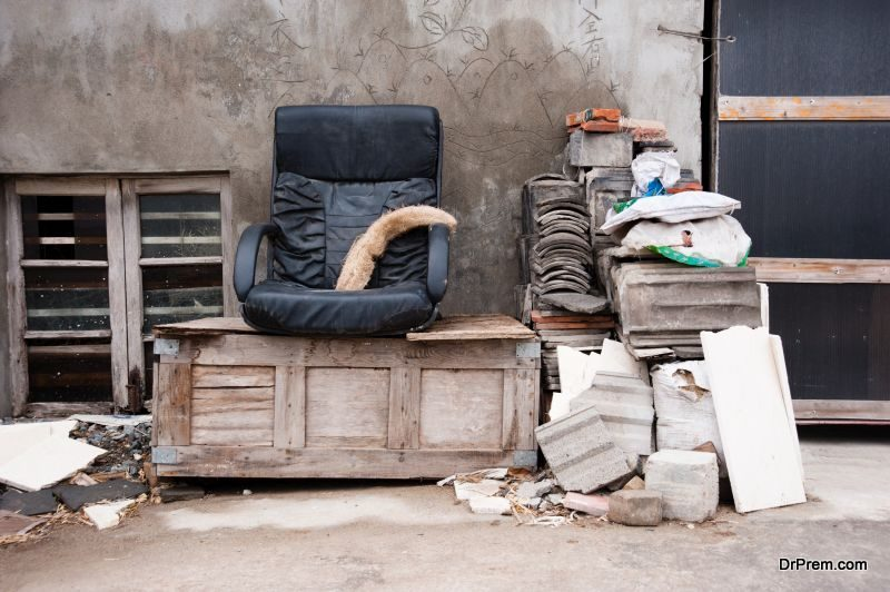 Junkyard furniture