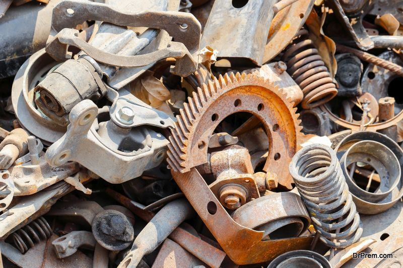 Scrap metals recycling