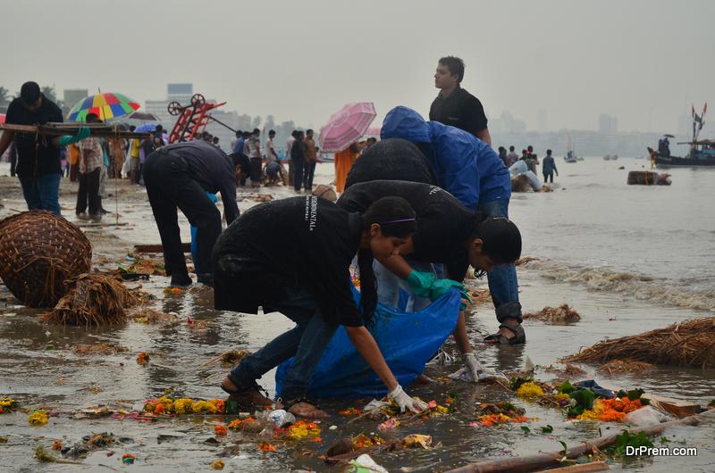 Beach clean-ups