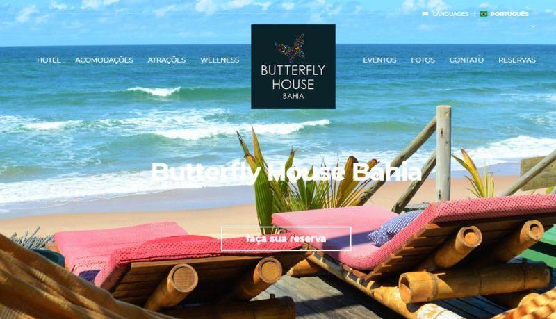 BUTTERFLY HOUSE, BAHIA, BRAZIL