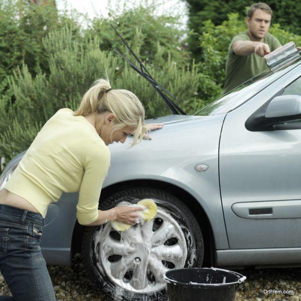 Smart car washing