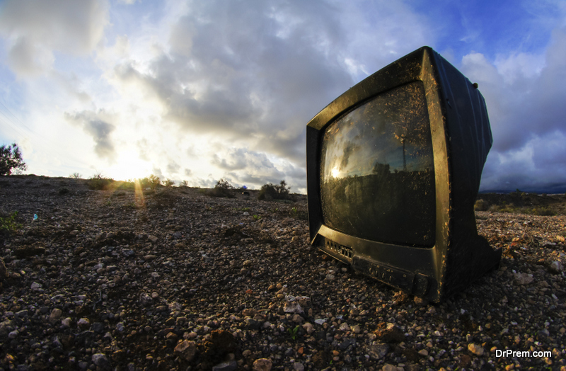 recycle your old TV