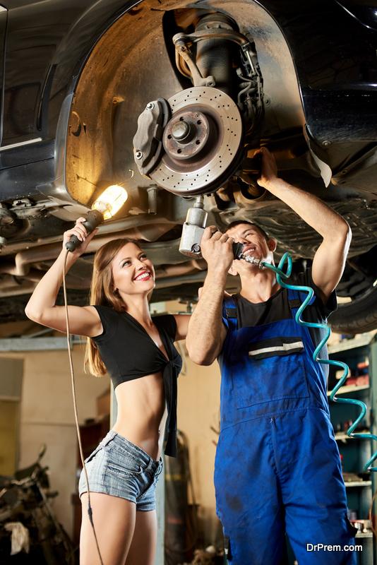 Regular car maintenance and checks