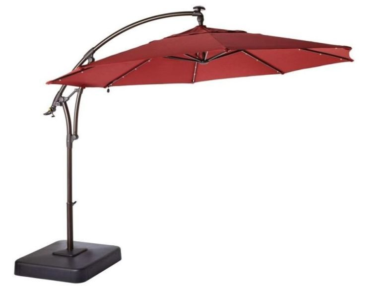 Solar Lighted Umbrella
