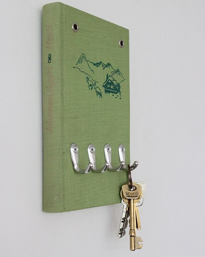 Book key holder