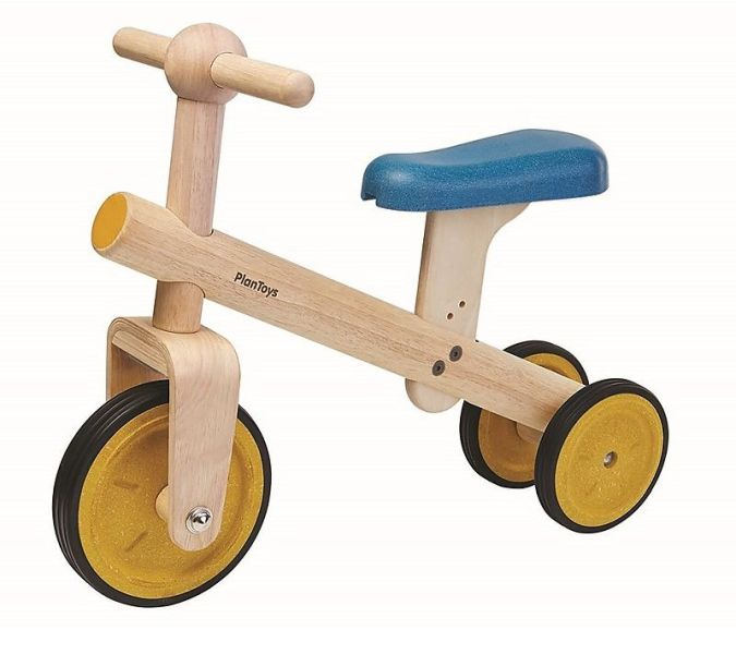 Eco-Friendly Wooden Trike from Plan Toys