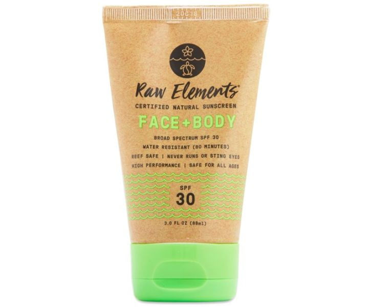 Raw Organic Sunscreen by Raw Elements
