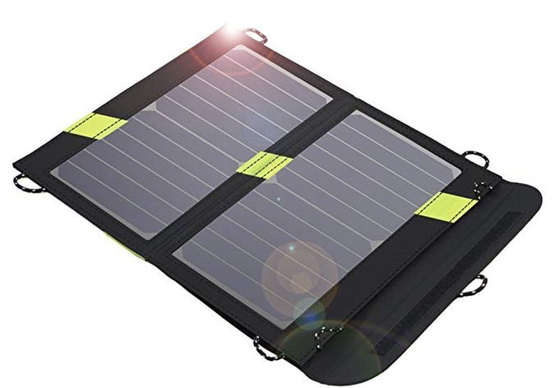 Solar powered USB chargers