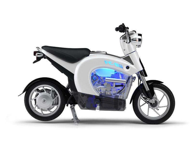 Yamaha FC-Dii Fuel Cell Bike Prototype