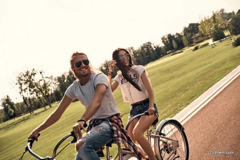 Go tandem biking