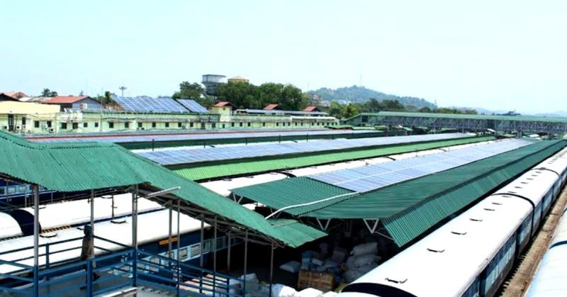 Guwahati solar train