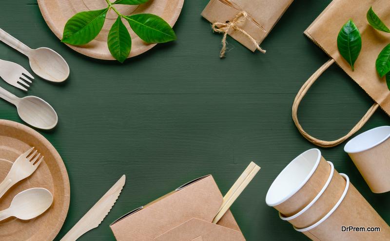 recycled tableware