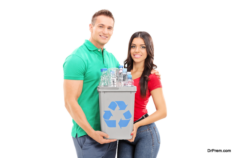 encourage your spouse to be eco-friendly